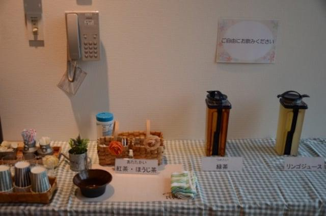 認知症カフェのお茶のサービス