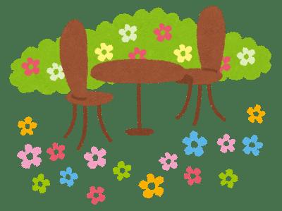 ひだまりカフェ春の寄せ植え